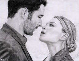 Lucifer and Chloe by Knits-Fire
