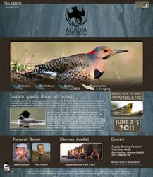 Acadia Birding Festival WEBPAG by The-BenT-One
