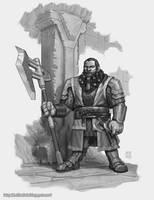 Dwarf Warrior by z0mbiePirat3