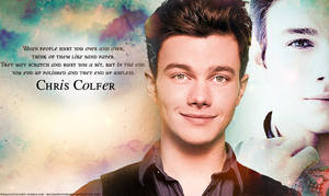 Chris Colfer by MelissaPhotography