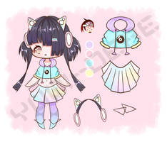 [CLOSED] 290 Point Chibi Ref Sheet Adopt by Chromlyte