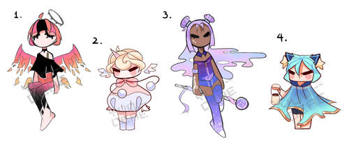 [CLOSED] Smol Chibi Adopts Auction .5 by Chromlyte