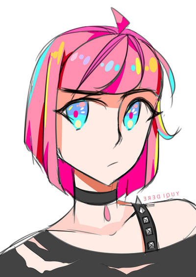 [+SPEEDPAINT] Colored doodle . 1 by Chromlyte