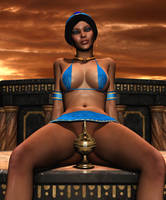 JASMINE: The Real Treasure of Agrabah by Furbs3D