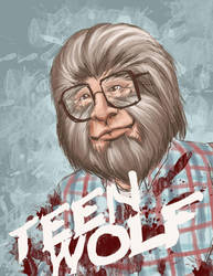 the not so Teen WOLF by jlcomix