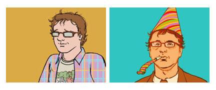 self portraits by jlcomix