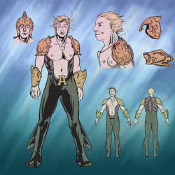 Aquaman Redesign 03 by jlcomix