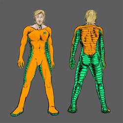Aquaman Redesign 02 by jlcomix