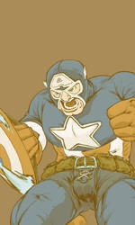 Cap'n America by jlcomix
