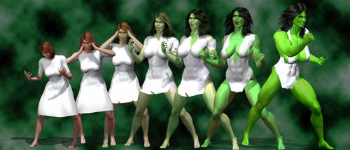 Rise of the She-Hulk by marston004