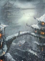winter.. by wlop