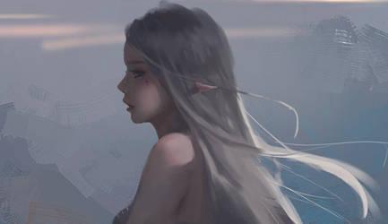 Ice Princess by wlop
