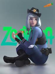 Judy by wlop