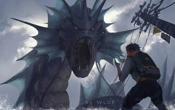 Pokemon GO? by wlop