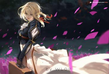 Violet Evergarden by wlop