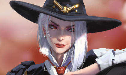 Ashe by wlop