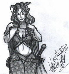 Tiefling by soul-tempest