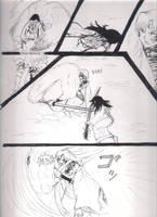 To protect doujinshi Sesshomaru page 3 by Shaolinrachel