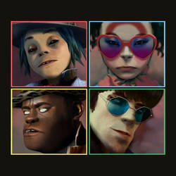 Gorillaz - Humanz (Deluxe) by sweetdisastermusic