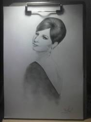 Barbra Streisand by titanicmull
