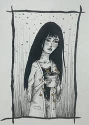 Golden flowers by Luftdose