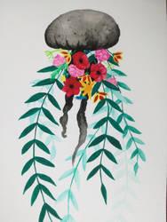 Flower Power Jellyfish by Luftdose