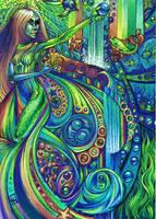 Deep Aqua by violetxrain