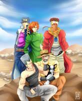 +JJBA+ The long journey ends... by Kaizoku-no-Yume