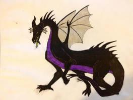 Dragon Maleficent by YukaiRyujin