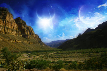 The Grand Canyon Sky by rockstarr411