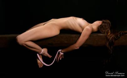 Pink tie brown nipple by DavidSamson