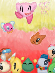 Happy 20th, Kirby! by QuilavaBurn