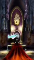 On Her Throne by InkyBeaker