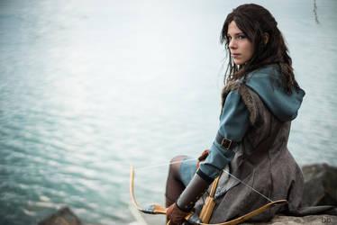 Cosplay Kili (female version) from The Hobbit by MahoCosplay