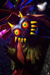 Cosplay Skull Kid from TLZ Majora's Mask by MahoCosplay