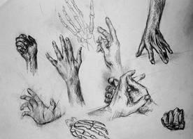 Hands - Study by Kris-Kamikakushi