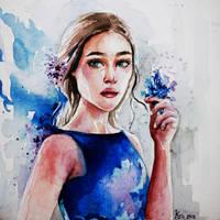 forget-me-not by Kris-Kamikakushi