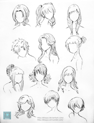 Hair Reference 1 by Disaya