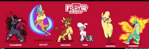 Them's Fightin' Herds by Droll3