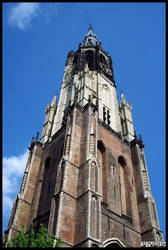 Nieuwe Kerk by neurolepsia