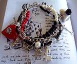 Queen of Hearts Bracelet by neurolepsia