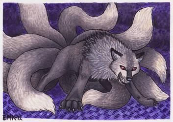 Nine Tails by Elkenar