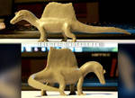 New Spinosaurus | Simple Clay Model by FredtheDinosaurman
