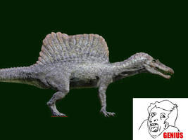 Spinosaurus: If it were accurate by FredtheDinosaurman