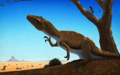 Big Al - The Allosaurus by FredtheDinosaurman