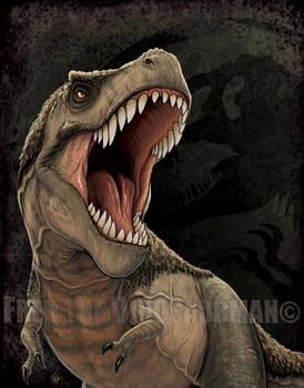 Tyrant King: Jurassic Park/World T. Rex Update by FredtheDinosaurman