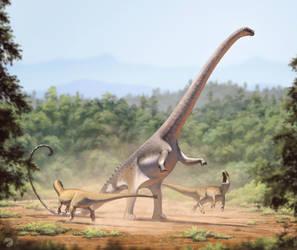 Barosaurus by FredtheDinosaurman