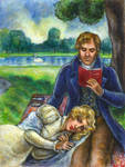 The Lady Who Loved Him: Hyde Park by suburbanbeatnik