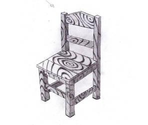 Cadeira de madeira by Cell-Unlimited