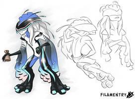 Filamentry - Concepts 06 by Yamita